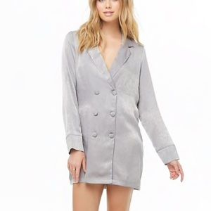 Forever 21 double-breasted shirt dress
